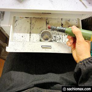 【工作】ルーター作業には腕カバー付きエプロンがあると便利☆07