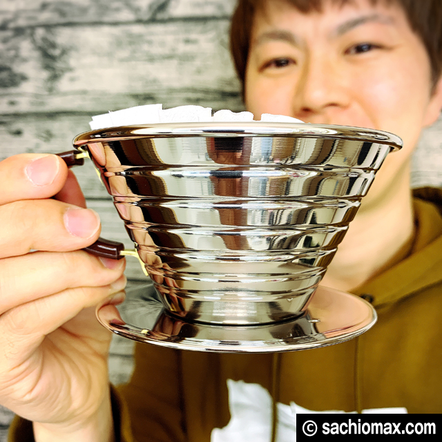 【おうちカフェ】カリタウェーブドリッパー・フィルター他 お買い物00