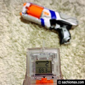 【NERF/ナーフ】弾速計クロノバレルでライバルも計測する改造と計算20
