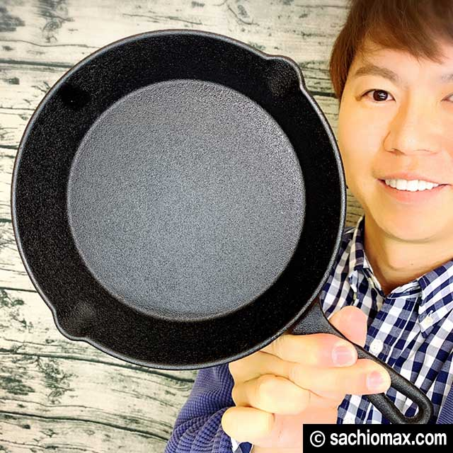 【リベンジ】ニトリ・3coins スキレットで3段パンケーキ作りに挑戦00