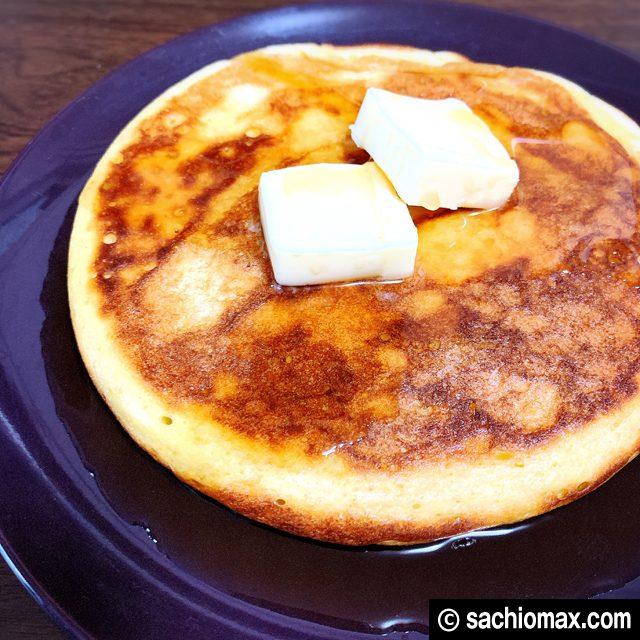【レシピ】ホットケーキミックスでリコッタチーズパンケーキを作るよ10