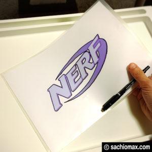 【NERF/ナーフ】300円ショップグッズで収納ボックスを作る方法-05