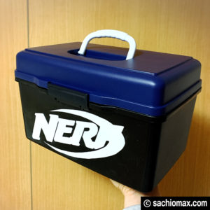 【NERF/ナーフ】300円ショップグッズで収納ボックスを作る方法-11
