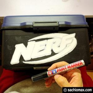 【NERF/ナーフ】300円ショップグッズで収納ボックスを作る方法-12