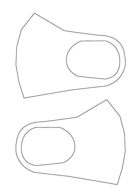 【100均DIY】ミシンを使わない手作りマスクの作り方-コロナ対策-11