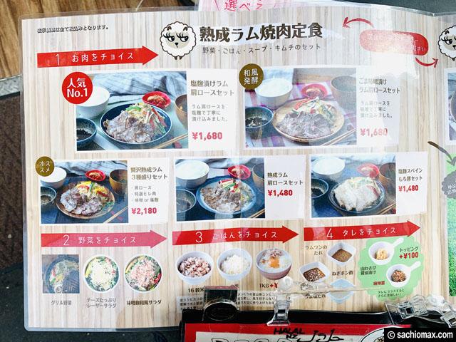 【お一人ジンギスカン】新宿歌舞伎町「ラムワン 」ランチの注意点-02