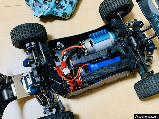【ストレス解消】砂・防塵対策してRCカー(ラジコン)で遊ぼう-Wltoys-04