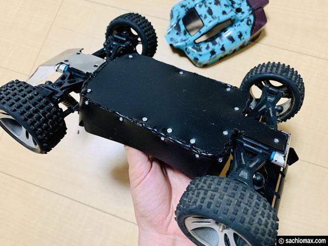 【ストレス解消】砂・防塵対策してRCカー(ラジコン)で遊ぼう-Wltoys-05