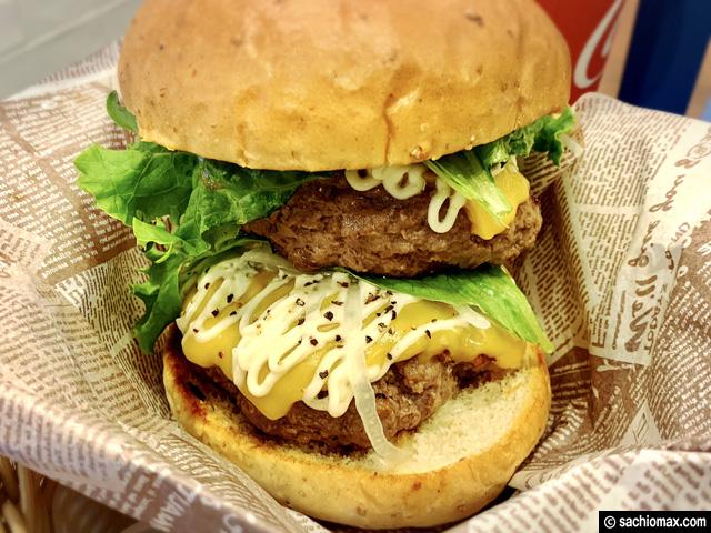 【秋葉原】CafeEURO「A5ランクの黒毛和牛100%ハンバーガー」感想-04