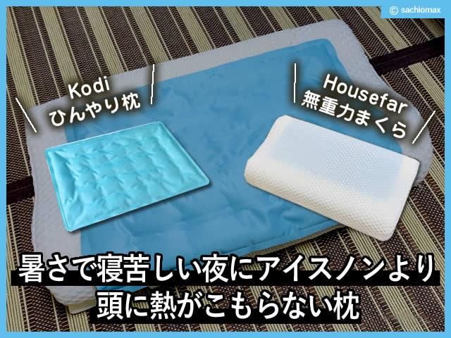 【熱帯夜】暑さで寝苦しい夜にアイスノンより頭に熱がこもらない枕-00