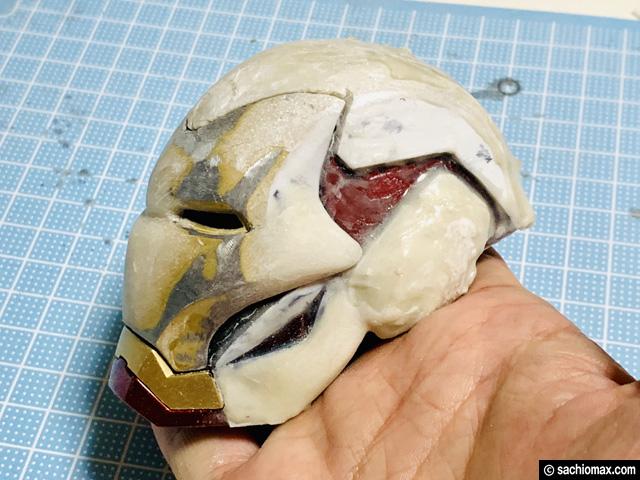 【週刊アイアンマン】ヘルメットをマーク85に改造100均DIY-前編--07