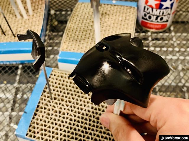 【週刊アイアンマン】ヘルメットをマーク85に改造100均DIY-前編--10