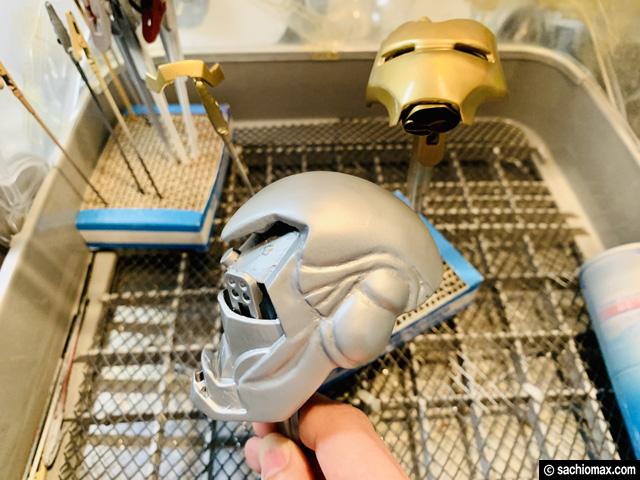 【週刊アイアンマン】ヘルメットをマーク85に改造100均DIY-前編--11
