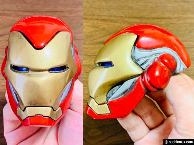 【週刊アイアンマン】ヘルメットをマーク85に改造100均DIY-後編--04
