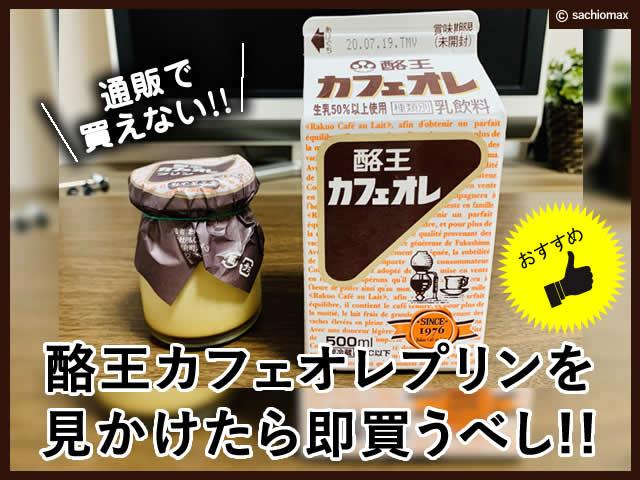 【通販で買えない】酪王カフェオレプリンを見かけたら即買うべし-00