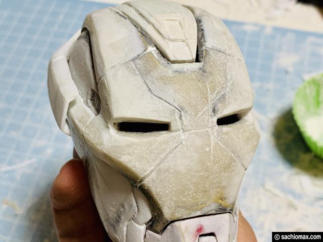 【週刊アイアンマン】ヘルメットをマーク17に改造100均DIY-前編--10