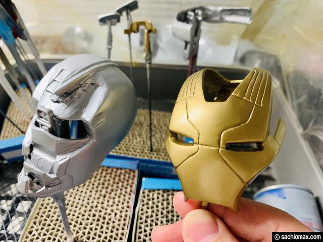 【週刊アイアンマン】ヘルメットをマーク17に改造100均DIY-後編--03
