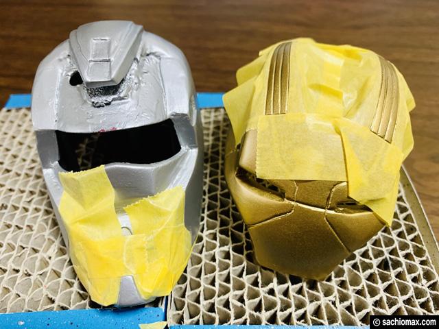 【週刊アイアンマン】ヘルメットをマーク17に改造100均DIY-後編--04