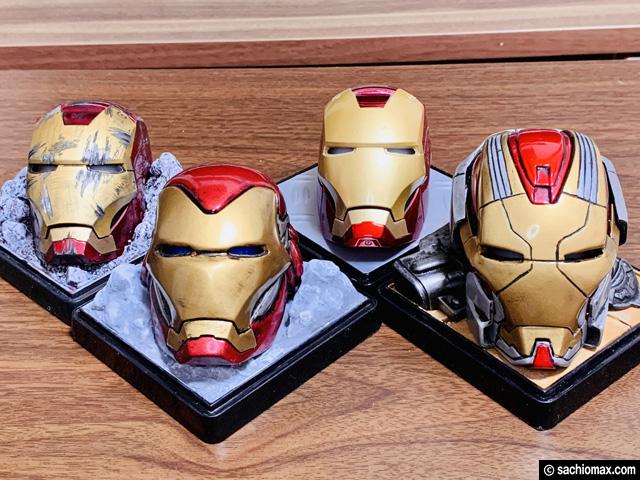 【週刊アイアンマン】ヘルメットをマーク17に改造100均DIY-後編--11