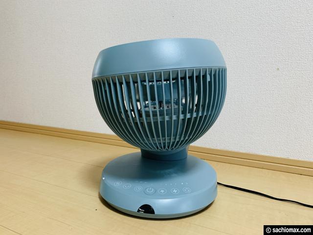【扇風機ランキング1位】360°首振り アンドデコ サーキュレーター-05